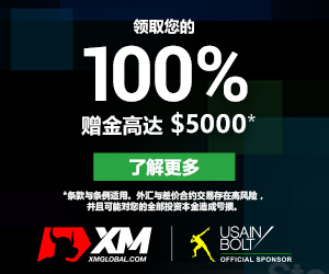 XM全新100%欢迎赠金高达$5,000