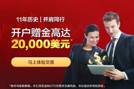 AETOS艾拓思新客户入金尊享高达USD20,000赠金
